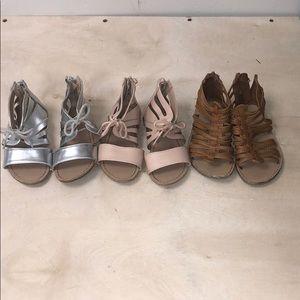 Bundle of (3) Old Navy girl sandals